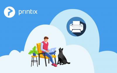 Printing safely from home with Printix