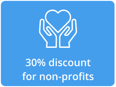 Printix offers a 30% discount for non-profits