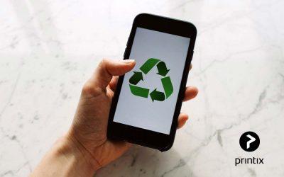 Sustainability advantages of Printix cloud print service